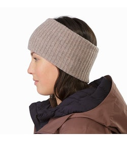 Chunky Knit Headband Lopi Heather Back View 2d6a20a1752