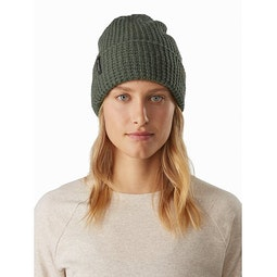 Chunky Knit Toque Aeroponic Heather Front View
