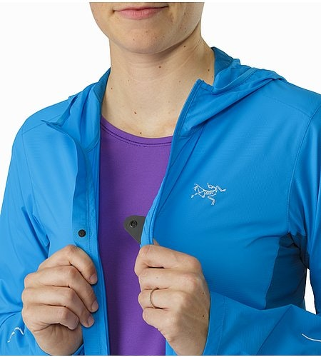 Cita Hoody Women's Baja Front Chest Snap