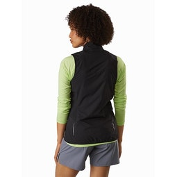 Cita Vest Women's Black Back View