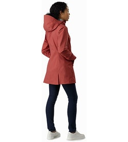 Codetta Coat Women's Andesine Back View