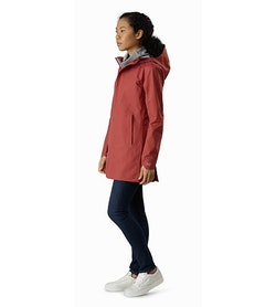 Codetta Coat Women's Andesine Front View