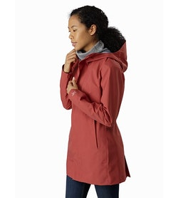 Codetta Coat Women's Andesine Side