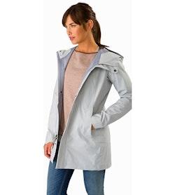 Codetta Coat Women's Athena Grey Outfit