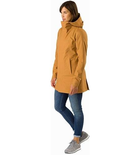 Codetta Coat Women's Ginger Root Front View