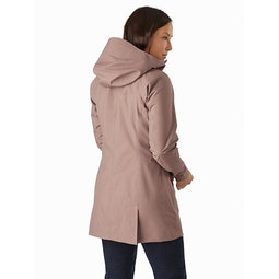 Codetta Coat Women's Jute Back View