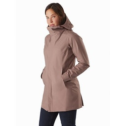 Codetta Coat Women's Jute Front View