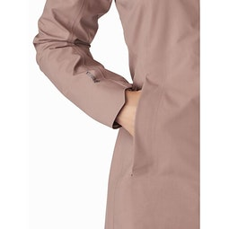Codetta Coat Women's Jute Hand Pocket