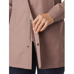 Codetta Coat Women's Jute Two Way Zipper
