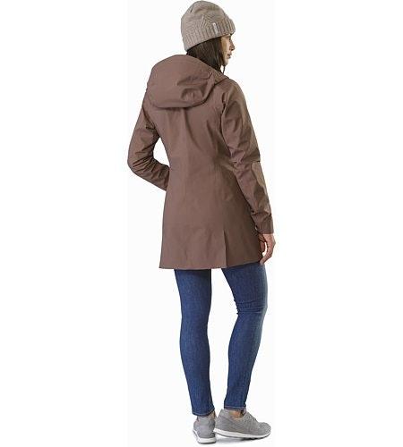 Codetta Coat Women's Lynx Back View