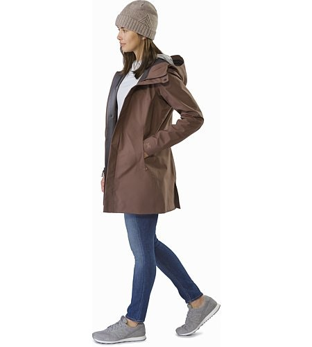 Codetta Coat Women's Lynx Front View
