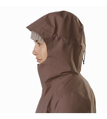 Codetta Coat Women's Lynx Hood Up