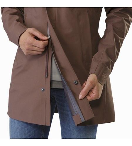 Codetta Coat Women's Lynx Two Way Zipper
