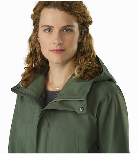 Codetta Coat Women's Shorepine Open Collar