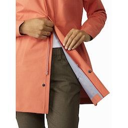 Codetta Coat Women's Solus Two Way Zipper