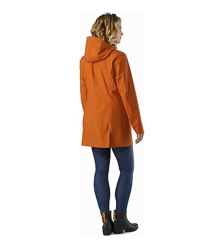 Codetta Coat Women's Tika Rückansicht