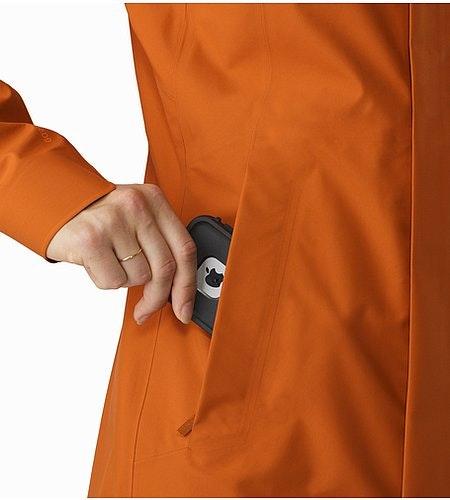 Codetta Coat Women's Tika Hand Pocket