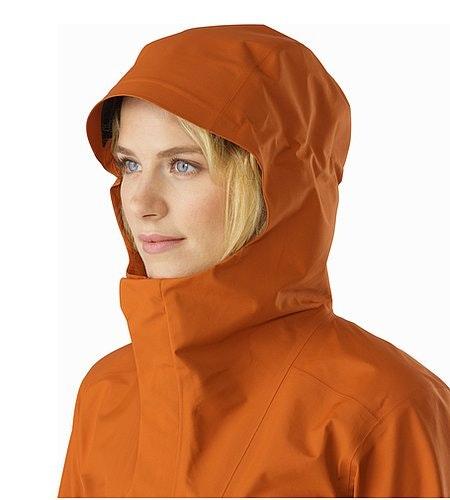 Codetta Coat Women's Tika Hood Front View