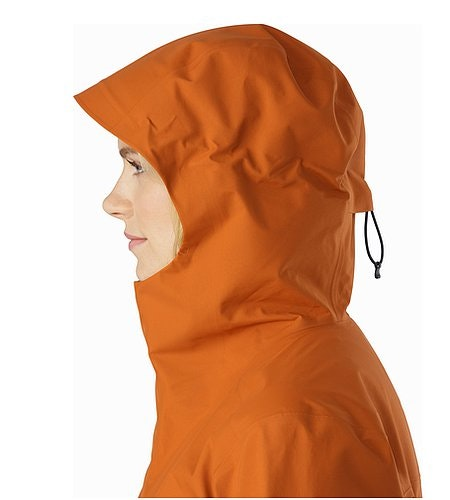 Codetta Coat Women's Tika Hood Side View