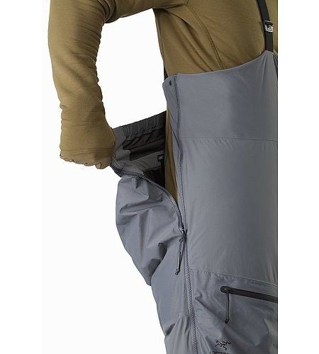 Cold WX Bib Pant SVX Harrier Side Zipper