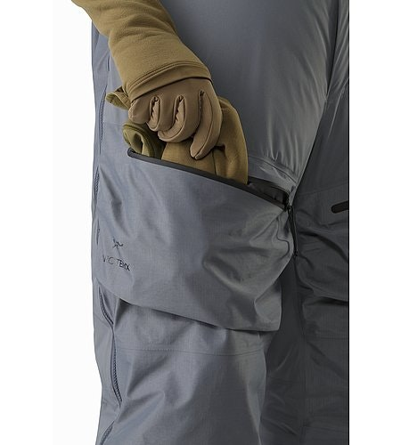 Cold WX Bib Pant SVX Harrier Thigh Pocket