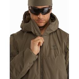 Cold WX Hoody LT Gen 2 Ranger Green Front Zipper