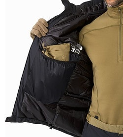 Cold WX Jacket SV Black  Internal Pocket