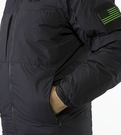 Cold WX Jacket SV Black Hand Pocket
