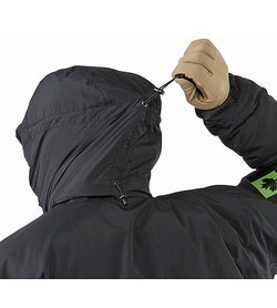 Cold WX Jacket SV Black Hood Adjuster