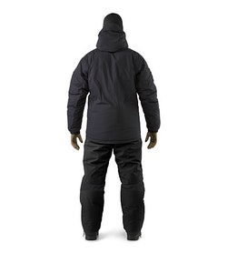 Cold WX Jacket SV Black Jacket And Pant Combination Back View