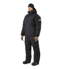 Cold WX Jacket SV Black Jacket And Pant Combination Front View