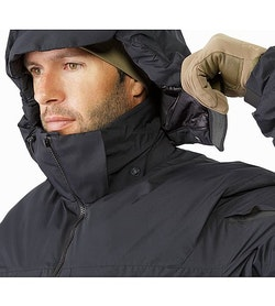 Cold WX Jacket SV Black Removable Hood