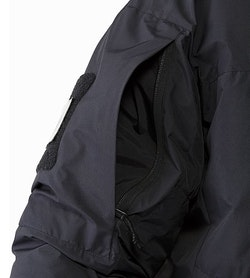 Cold WX Jacket SV Black Sleeve Pocket