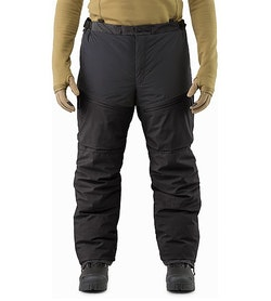 Cold WX Pant SV Black Front View