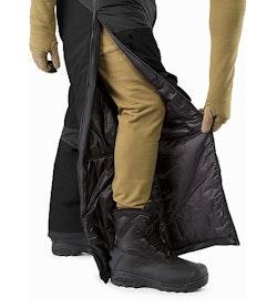 Cold WX Pant SV Black Full Side Zip