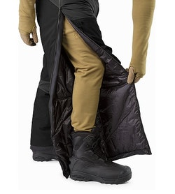 Cold WX Pant SV Black Full Zide Zip