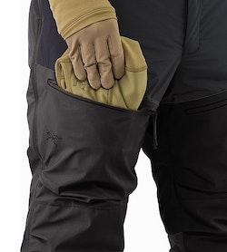 Cold WX Pant SV Black Thigh Pocket
