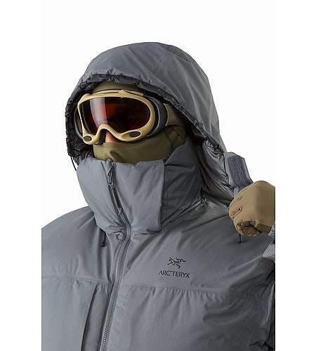 Cold WX Parka SVX Harrier Removable Hood