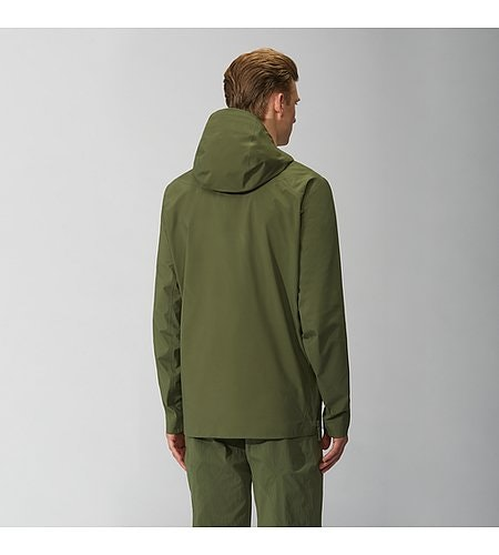 Conduct Anorak Loden Back View