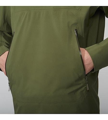 Conduct Anorak Loden Hand Pockets
