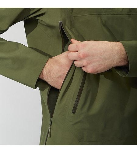 Conduct Anorak Loden Side Access