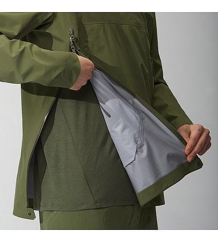 Conduct Anorak Loden Side Zipper