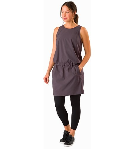 Contenta Dress Women's Whiskey Jack Front View