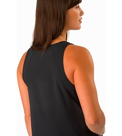 Contenta Shift Dress Women's Black Back Detail
