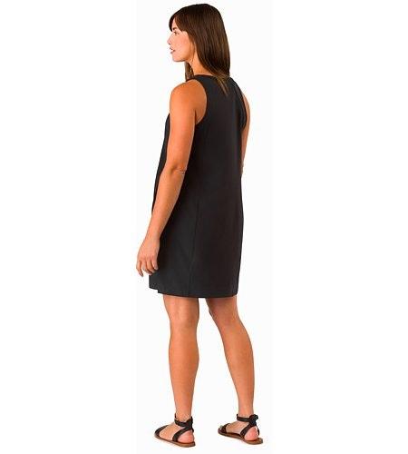 Contenta Shift Dress Women's Black Back View