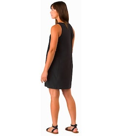Contenta Shift Dress Women's Black Back View