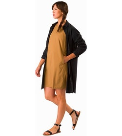 Contenta Shift Dress Women's Ginger Root Front View
