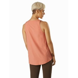 Contenta Sleeveless Top Women's Solus Back View