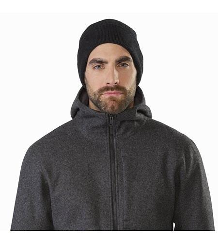 Cordova Jacket Black Heather Collar