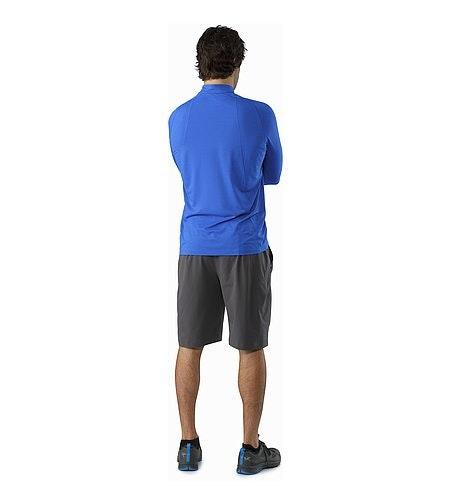 Cormac Zip Neck Shirt LS Rigel Back View
